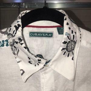 Cubavera Linen Cotton Shirt